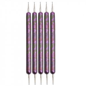 Set 5 Punctatoare pentru Unghii The Purple Five, calitate premium