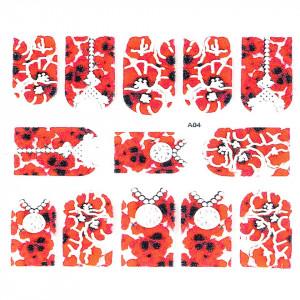 Sticker 3D Unghii LUXORISE Artistry A04