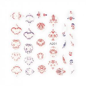 Sticker 3D Unghii LUXORISE Artistry A201