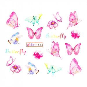 Tatuaj unghii LUXORISE, Butterfly BN-1654