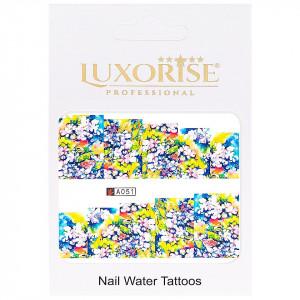Tatuaj unghii LUXORISE, Nature A051