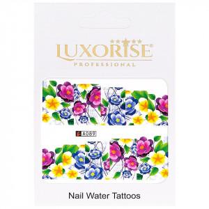 Tatuaj unghii LUXORISE, Nature A089