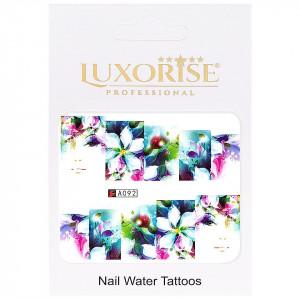 Tatuaj unghii LUXORISE, Nature A092