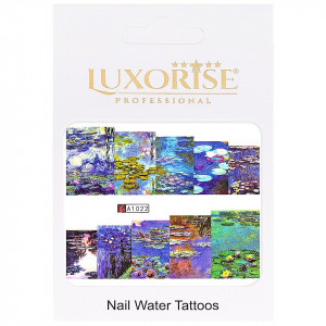 Tatuaj unghii LUXORISE, Nature A1022