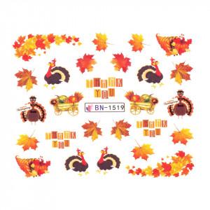 Tatuaj unghii SensoPRO Autumn Challenge, model BN-1519