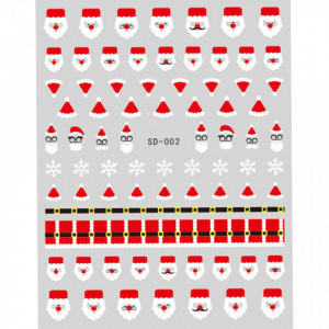 Abtibild unghii SD-002 Jingle Bells