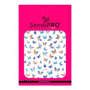 Abtibilduri unghii SensoPRO Milano Butterfly, model DP169
