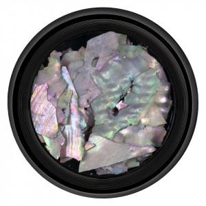 Decor Unghii tip Scoica Pisata LUXORISE - Holo Colors