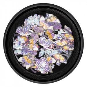 Decoratiuni Unghii Nail Art LUXORISE, Butterfly Rain