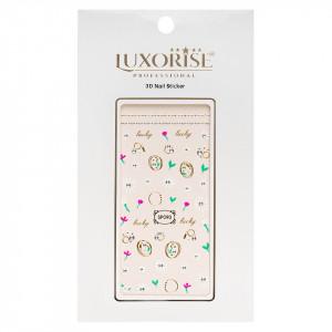 Folie Sticker 3D unghii LUXORISE- SP090