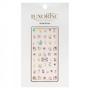 Folie Sticker 3D unghii LUXORISE- SP099