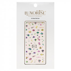Folie Sticker 3D unghii LUXORISE- SP212
