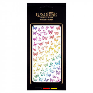 Folie Sticker Unghii Butterfly DP2020 - LUXORISE