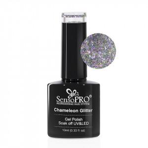 Oja Semipermanenta Cameleon Glitter SensoPRO 10ml - 011 Moonstruck