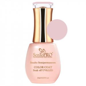 Oja Semipermanenta SensoPRO 15ml culoare Roz pal - 007 Nude Vanilla