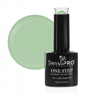 Oja Semipermanenta SensoPRO Milano One Step 10ml, Green Lemonade #068