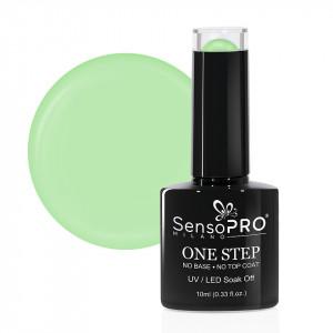 Oja Semipermanenta SensoPRO Milano One Step 10ml, Green Tea #070