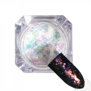 Pigment unghii Ice Effect #83 cu aplicator - LUXORISE