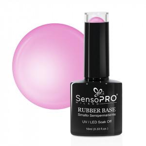 Rubber Base Gel SensoPRO Milano 10ml, #33 Candy Pink