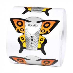 Sabloane Constructie Unghii Fluture - LUXORISE, 500 buc