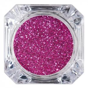Sclipici Glitter Unghii Pulbere LUXORISE, Roz Intens #26