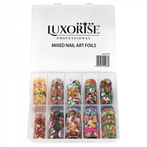 Set Folii Transfer LUXORISE #35 Christmas Vibes, 10 buc
