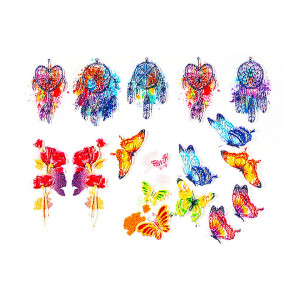 Tatuaj 3D Unghii LUXORISE 0515-03