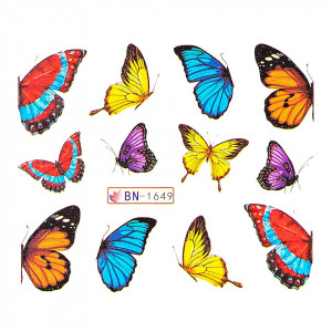 Tatuaj unghii LUXORISE, Butterfly BN-1649
