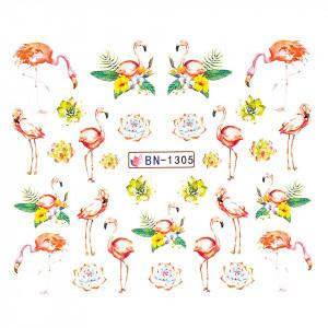 Tatuaj unghii LUXORISE, Flamingo BN-1305
