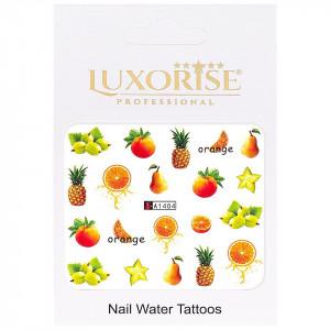 Tatuaj unghii LUXORISE, Fruits A1404