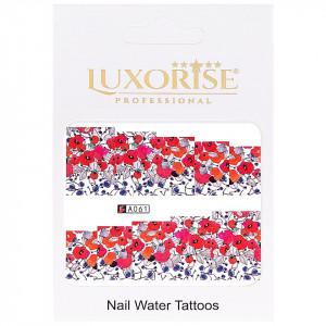 Tatuaj unghii LUXORISE, Nature A061