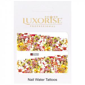 Tatuaj unghii LUXORISE, Nature A098