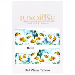 Tatuaj unghii LUXORISE, Nature A851