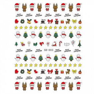 Abtibild unghii SD-003 Jingle Bells