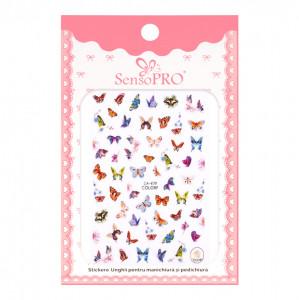 Abtibilduri unghii SensoPRO Magic Butterfly, model CA479