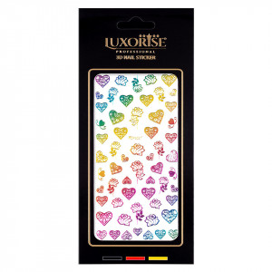 Folie Sticker Unghii Lovely DP2021 - LUXORISE