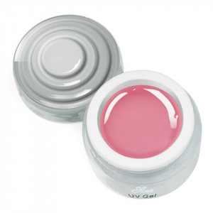 Gel Constructie Unghii UV Sina Deluxe 15 ml Pink - Roz Transparent
