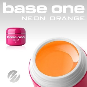 Gel UV Base One Neon Orange (Portocaliu Neon) - 5 gr