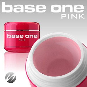 Gel UV Base One Pink - Roz Transparent, 15 gr.