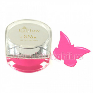 Gel UV Color EzFlow 15ml, #012 - Oh So Pink