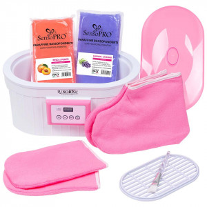 Kit Parafina pentru maini si picioare Soft Skin cu incalzitor LUXORISE + CADOU