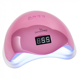 Lampa UV LED 48WSUN5 PRO SensoPRO Milano, Royal Pink