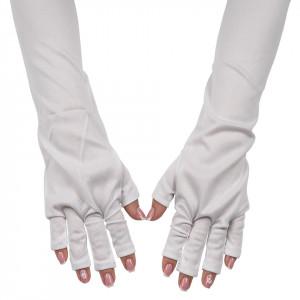 Manusi Manichiura Protectie UV, Alb