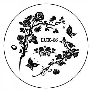 Matrita Metalica Stampila Unghii LUX-06 - Nature
