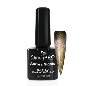 Oja Semipermanenta Aurora Nights SensoPRO 10ml - 05 Moon Story