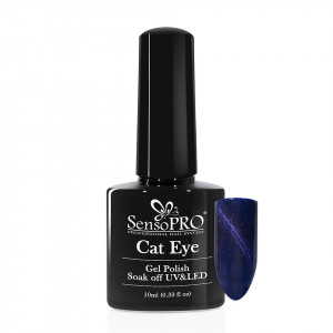 Oja Semipermanenta Cat Eye SensoPRO 10ml - #050 Sapphire Crystal