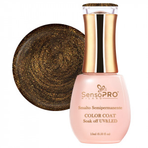 Oja Semipermanenta SensoPRO 15ml culoare Auriu - 070 Sun Bronze
