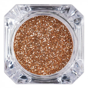 Sclipici Glitter Unghii Pulbere LUXORISE, Red Gold #41