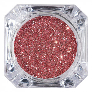 Sclipici Glitter Unghii Pulbere LUXORISE, Rose #19