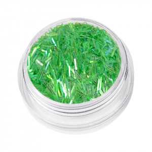 Sclipici Unghii Glitter Dance, Light Green